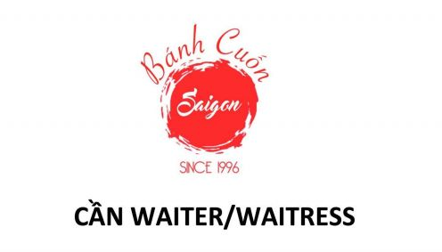 Cần waiter waitress