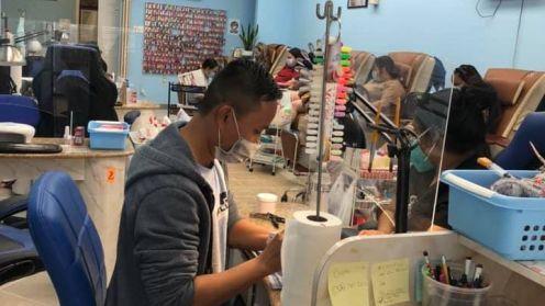 Cần bán tiệm nail