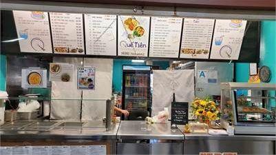 Cần sang tiệm food court