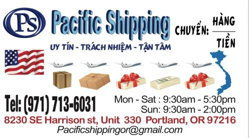 Pacific Shipping Oregon